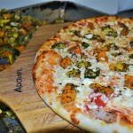Herb Roasted Veggies Pizza