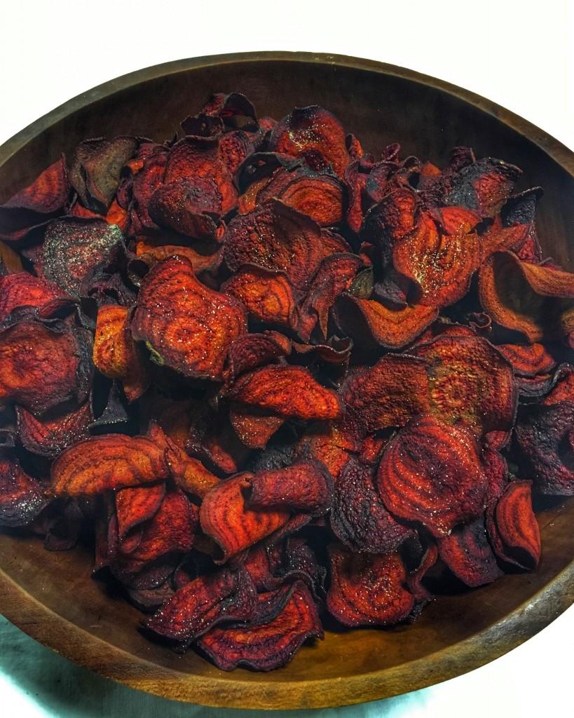 beet chips crisp catering